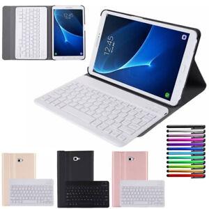 For Samsung Galaxy Tab A/A6 10.1 T580 T585 Folio Stand Case +Bluetooth Keyboard
