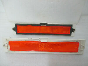 Mopar NOS/USED 82-83 Dodge 400 600 83 LeBaron Front SD Marker Lamps PAIR 4174224