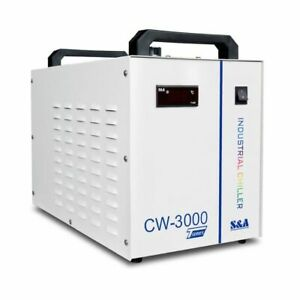 CW-3000TG Industrial Water Chiller for 60/80W Laser Engraving Machine, AC1P 220V