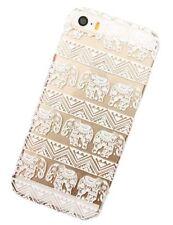 Étuis, housses et coques blancs transparente en plastique rigide pour téléphone mobile et assistant personnel (PDA) Apple