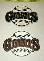 LOT MLB 2 SAN FRANCISCO GIANTS Rubber Fridge MAGNETS Standings Board BASEBALL