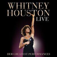 WHITNEY HOUSTON - LIVE: HER GREATEST PERFORMANCES CD+DVD NEU