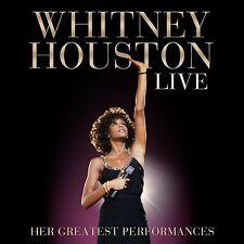 Whitney Houston-Live: HER GREATEST performances 2 CD NEUF