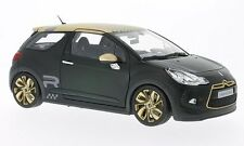 Norev 2013 Citroen DS3 Racing Black 1/18 Diecast Car Model 181547