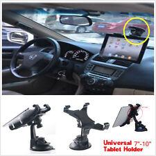 "Car Windshield Instrument Desk Mount Holder Bracket For Ipad Galaxy 7-10"" Tablet"