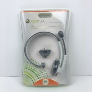 Microsoft Xbox 360 Live Wired Headset With Mic OEM New Sealed