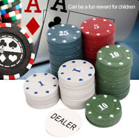 Poker Chip Set with Aluminium Case Playing Cards Dice Casino Size Gamble