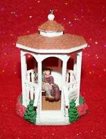 Hallmark Christmas Together Gazebo Ornament 1996 Don Palmiter Couple on Swing