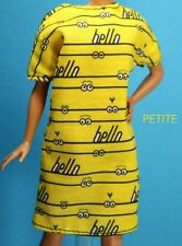 Barbie Despicable Me Yellow Hello Minions Dress CURVY TALL PETITE REGULAR