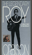 The LEGENDARY ROY ORBISON - 4 CDs + Booklet - 1990 Long Box With Booklet - MINT!