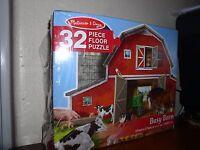 Melissa & Doug- 32 Piece Puzzle: Busy Barn (#2923) - Age 3+