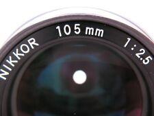Nikon 2.5 105mm AI Lens