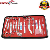 Set of 18 Minor Surgery Set Surgical Instruments Kit Best Stainless Steel