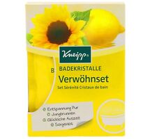 (27,67€/kg) 4x 60g Kneipp Badekristalle Geschenkset Verwöhnset  Jungbrunnen