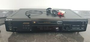 Sony Mini Disc MD Deck Seperate MDS-JE520 Recorder - Tested GWC