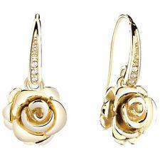 Glassteine Mode-Ohrschmuck aus Edelstahl für Damen