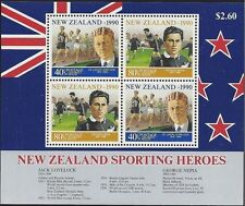 New Zealand 1990 HEALTH(SPORTSMEN) Miniature Sheet MNH SG MS1561