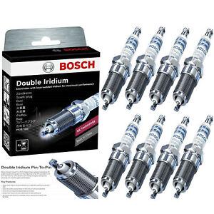 For 2001-2006 GMC SIERRA 2500 HD V8-8.1L 8 Pcs OE Double Iridium Spark Plug 9612