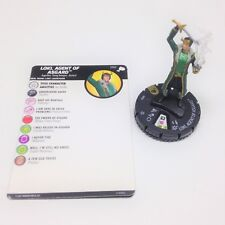 Heroclix The Mighty Thor set Loki, Agent of Asgard #050 Super Rare figure w/card