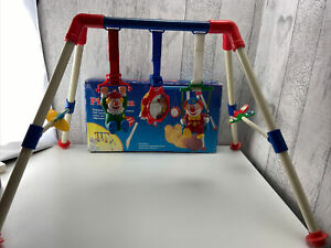 Vintage Illco Clown Frame Baby Play Gym Mat 80s 90s Retro Activity Vintage Toy