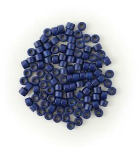 Ceramic tubes Navy Blue 0 1/4in 100 Piece ceramic beads Tubes Ceramic Beads