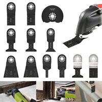 12PCS Dewalt Multi Tool Oscillating Saw Blades For Fein Multimaster Makita Bosch