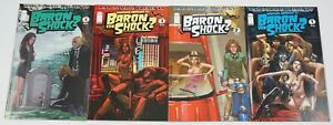 Rob Zombie Presents Whatever Happened to Baron Von Shock #1-4 VF/NM complete set