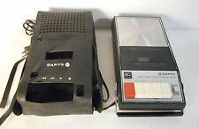 sanyo m-787 a registratore portatile con custodia, non funzionante.