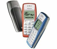 Unlocked Nokia 1110 Refurbished Cell Phone Old Mobile Phone GSM900/1800 4 Colors