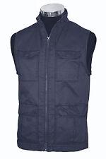 JEREMIAH Gray Cotton Vest Sleeveless Jacket Sz.Small  NWT