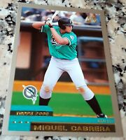 MIGUEL CABRERA 2000 Topps Traded Rookie Card RC HOT Tigers Triple Crown Winner