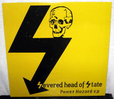"SEVERED HEAD OF STATE Power Hazard EP 12"" PUNK ROCK Hardcore D-BEAT Black Vinyl"