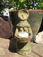 Ceramic Candle Holder, Romanov clay toy, Handmade, Home decor