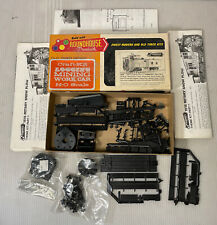 C1182- Roundhouse Old time HOscale Mixed Train Car Parts As Is, Rotary Snow Plow
