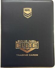 NRL 2016 RUGBY LEAGUE - Elite Official Trading Card Collector Album #NEW