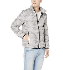 Guess Men's Long Sleeve Liam Camo Puffer Jacket - Size 2XL