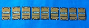 Cluedo Passport To Murder Board Game Spares - Complete Set Of 9 Suspect Cards