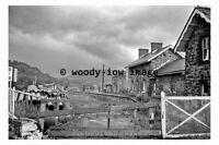 bb0740 - Builth Wells Railway Station remains , Wales - photograph 1967