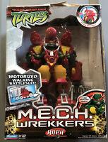 2005 Teenage Mutant Ninja Turtles M.E.C.H. Wrekkers Raph Figure TMNT Raphael