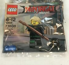 Lego Minifigure Figure THE NINJAGO MOVIE 30608 Lloyd Kendo New Sealed!