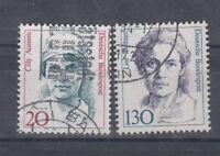 BRD Briefmarken 1988 Frauen Mi.Nr.1365+66 gestempelt
