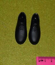 Vintage Action Man 40th loose Soldat Royal Hussar Chaussures Noires (Mat) échelle 1/6