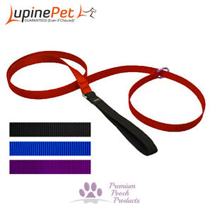 Lupine Dog Lead Slip Lead 19mm x 1.8m (6ft) Collar and lead in one - Var colours