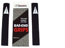 Odyssey Black Bar End Grip Covers / Handlebar Bar End Grips NEW!