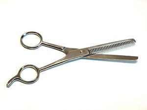 """Pet Dog Cat Professional Grooming Hair Cutting Thinning Scissors 6.5"""" NEW"""
