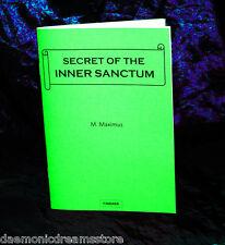 SECRET OF THE INNER SANCTUM  Finbarr Occult. Magus Maximus. Magic. RARE