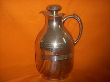 Antique BF Goodrich Rubber Tire Co 1961 Employee Award Pitcher SIlver Plate