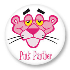 Pin Button Badge Ø38mm BD Dessin Animé Cartoon Panthere Rose Pink panther