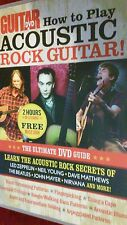 GUITAR DVD HOW TO PLAY ACOUSTIC ROCK GUITAR
