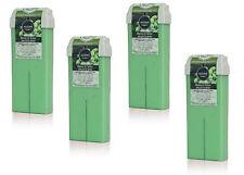 Cire Roll on Baies de Neem pour épilation avec bandes sans colophane 4 x100 ml